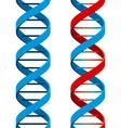 DNA symbol vector image vector image