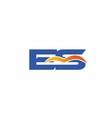 ES Logo vector image vector image