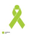 lymphoma ribbon vector image vector image