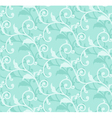 simple floral green seamless vector image vector image