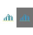 building logo vector image vector image