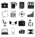 Business and office work icons set simple style vector image vector image