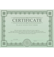 Certificate or coupon template vector image vector image