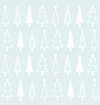 christmas background of christmas trees vector image vector image