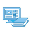 computer video icon vector image