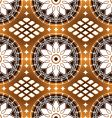 floral motifs background vector image vector image