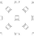hanger clothes pattern seamless vector image