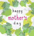 happy mother day 1 vector image vector image