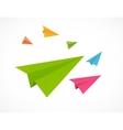 Airplane Backgrund vector image