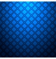 Blue geometric seamless pattern vector image vector image