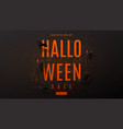 dark web banner for halloween sale vector image vector image
