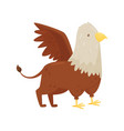 griffin mythical creature on a vector image