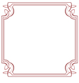 square frame Element for design vector image vector image