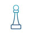 chess game piece vector image