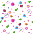 Childish pattern vector image