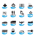 Diverse insurance icons set vector | Price: 1 Credit (USD $1)