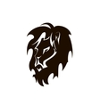 lion head Company logo design vector image