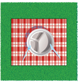 on picnic vector image