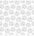 seamless pattern with Maple Leaf vector image vector image