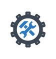 technical support glyph icon vector image