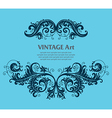 7floral line 40 2 vector image vector image