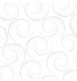 Abstract geometric pattern dots around Repeating vector image