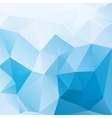 blue and white abstract background polygon