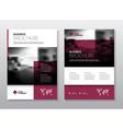 Business Brochure design Annual report temp vector image vector image