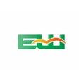 EW Logo vector image vector image