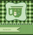 green tea background vector image vector image
