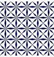 modern blue pattern vector image vector image