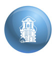 traditional house icon simple style vector image