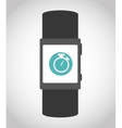 Wearable mobile technology vector image vector image