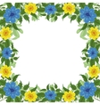 background frame of flowers