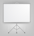 Blank Presentation Screen vector image vector image