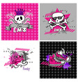 emo vector banners vector image