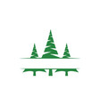 pine tree clip art graphic design template vector image