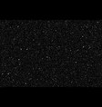 realistic black gold glitter particles vector image