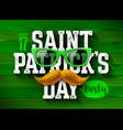 saint patricks day feast of saint patrick party vector image