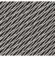 Seamless Hand Drawn Diagonal Wavy Lines vector image vector image