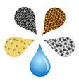 water filter design vector image vector image