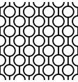 Seamless pattern with circles and stripes vector image