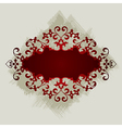 7floral line 59 2 vector image vector image