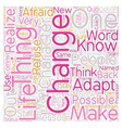Change text background wordcloud concept vector image vector image