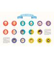 family tree with people avatars generations vector image vector image