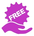 Free Present icon from Business Bicolor Set vector image