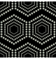Geometric ornament seamless vector image vector image