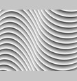 gray abstract wave background vector image vector image