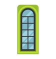 Window element isolated vector image