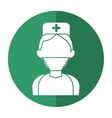 surgeon doctor wearing clothes medical uniform vector image
